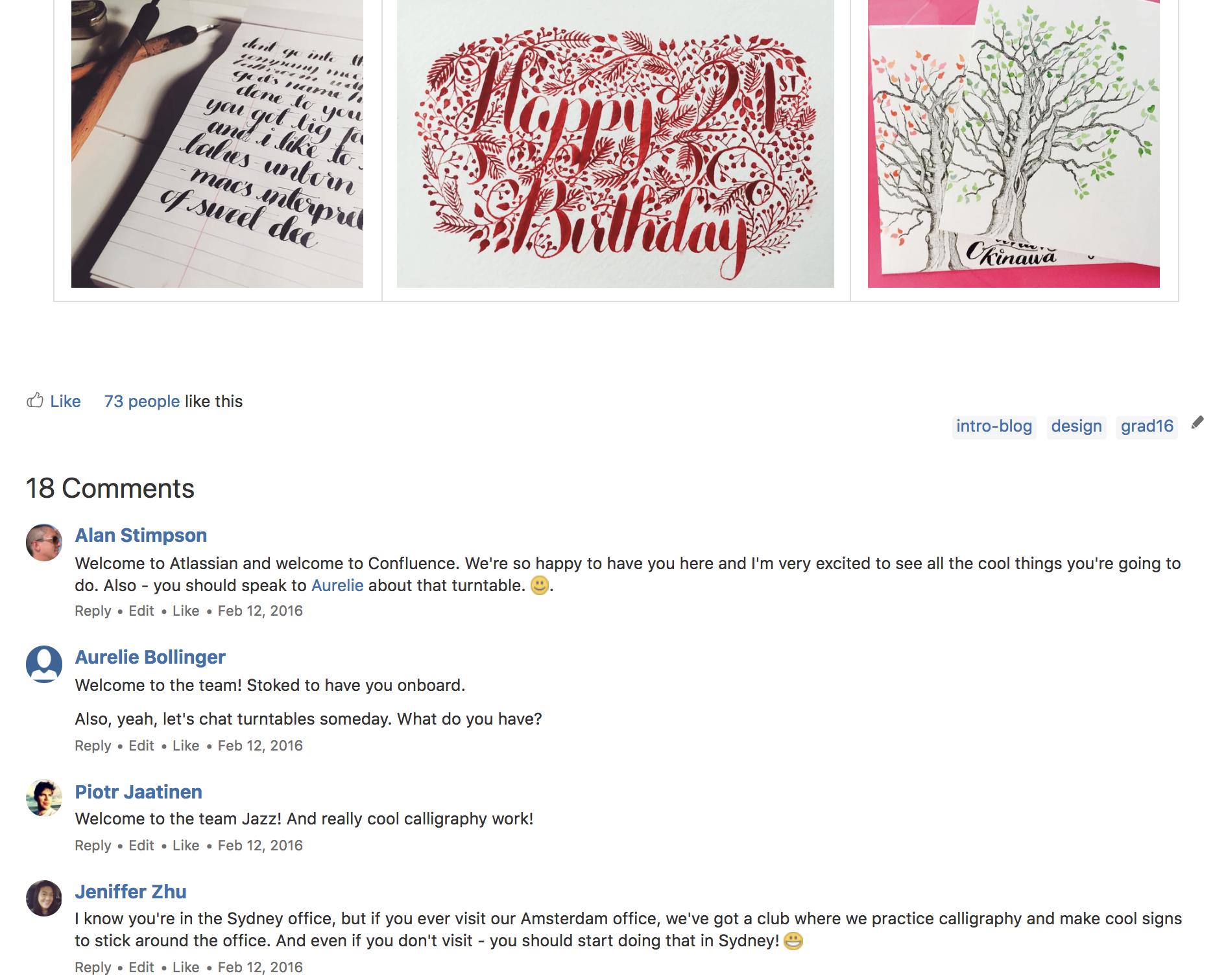 新しいチーム メンバーの自己紹介ブログ。既存のチーム メンバーからのコメントも含む